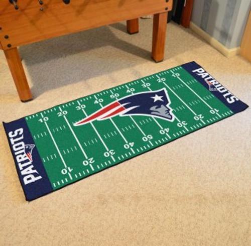 New England Patriots Football Field Runner