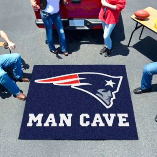 New England Patriots Man Cave Tailgater Rug