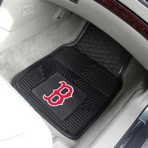 Boston Red Sox 2-pc Vinyl Car Mat Set