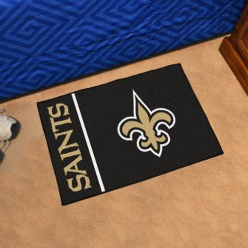 New Orleans Saints Uniform Inspired Starter Mat