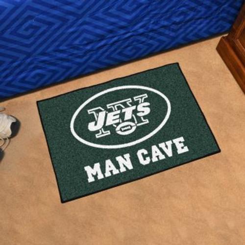New York Jets Man Cave Starter Rug