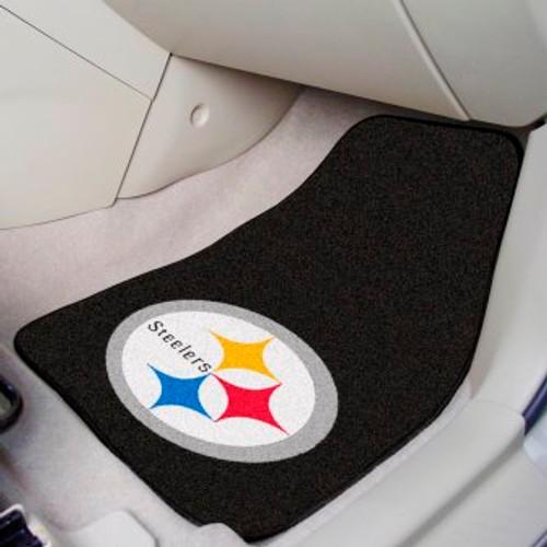 Pittsburgh Steelers 2-pc Carpet Car Mat Set