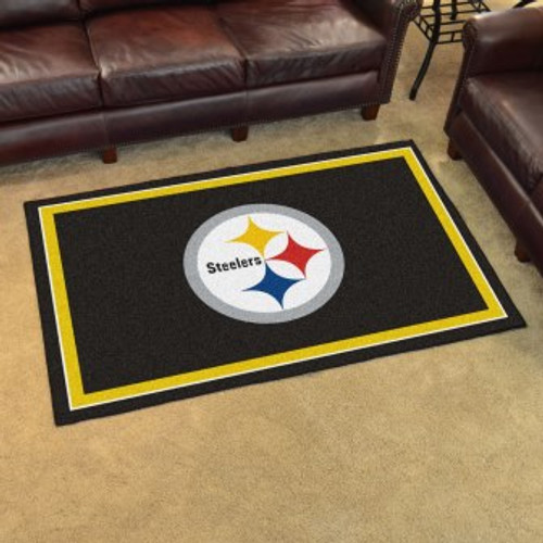 Pittsburgh Steelers 4x6 Rug