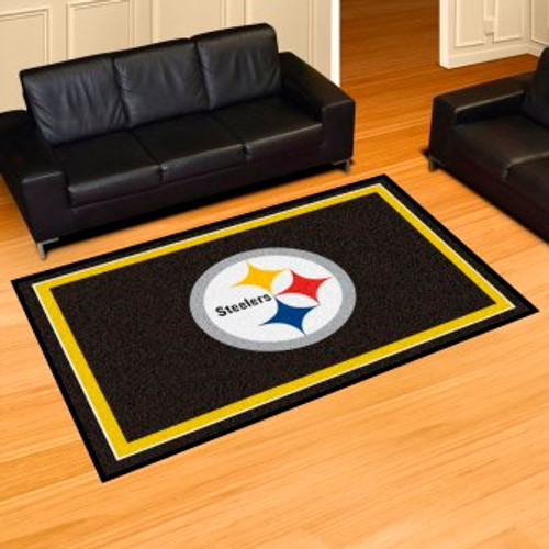 Pittsburgh Steelers 5x8 Rug