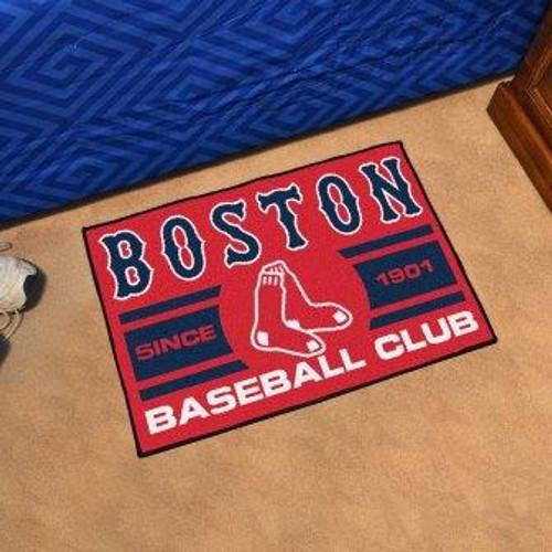 Boston Red Sox Baseball Club Starter Mat
