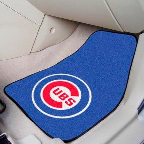 Chicago Cubs 2-pc Carpet Car Mat Set