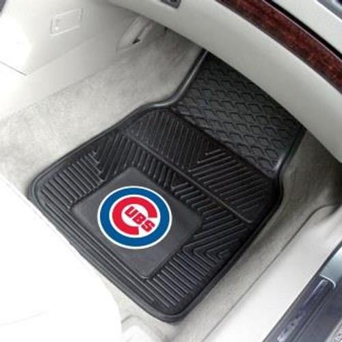 Chicago Cubs 2-pc Vinyl Car Mat Set