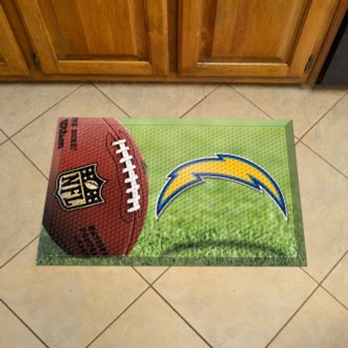 San Diego Chargers Football Scraper Mat