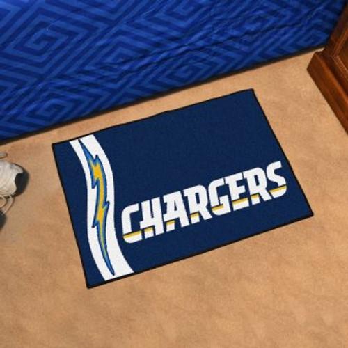San Diego Chargers Custom Starter Mat