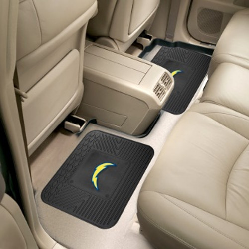 San Diego Chargers Utility Mats 2 Pack
