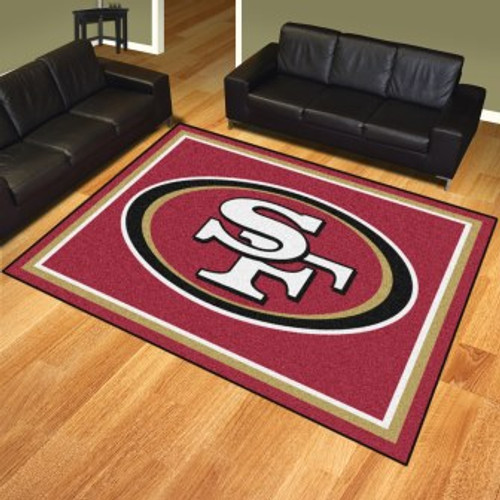 San Francisco 49ers 8x10 Rug