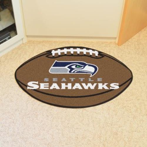 Seattle Seahawks Football Mat