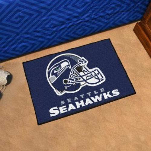 Seattle Seahawks Starter Mat-Helmet