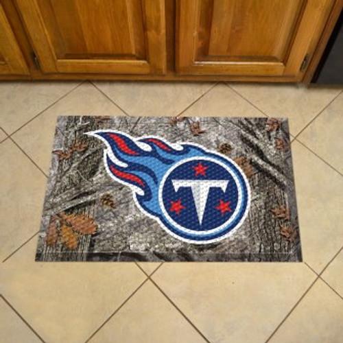 Tennessee Titans Camo Scraper Mat
