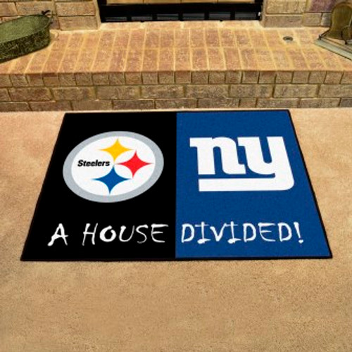 NFL House Divided Steelers-Giants Mat