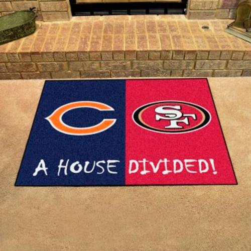 NFL House Divided Bears-49ers Mat