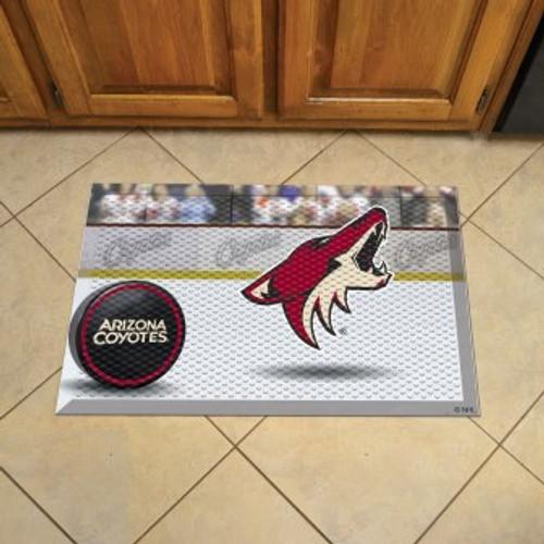Arizona Coyotes Hockey Scraper Mat