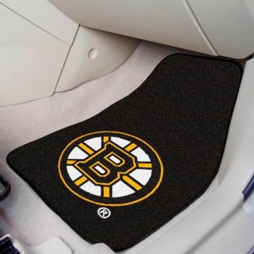 Boston Bruins 2-pc Carpet Car Mat Set