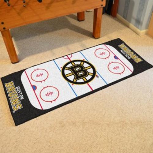 Boston Bruins Hockey Runner