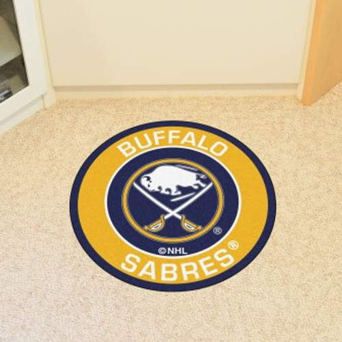 Buffalo Sabres Roundel Mat