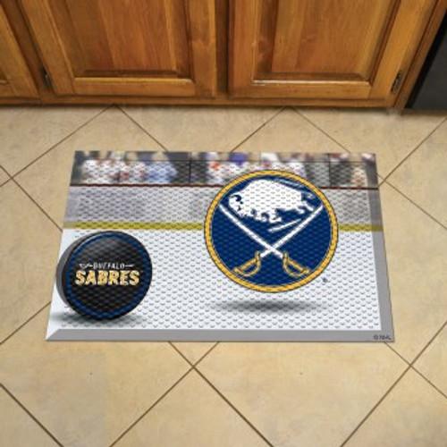 Buffalo Sabres Hockey Scraper Mat