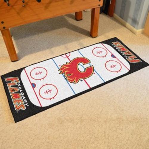 Calgary Flames Hockey Runner