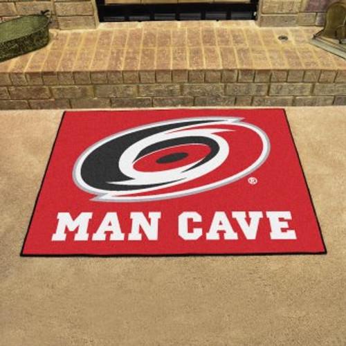 Carolina Hurricanes Man Cave All-Star Mat