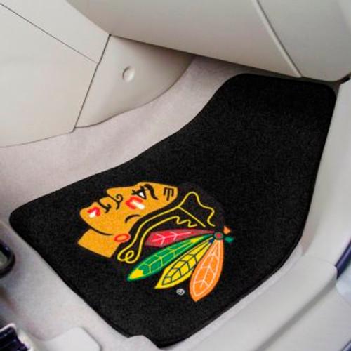 Chicago Blackhawks 2-pc Carpet Car Mat Set