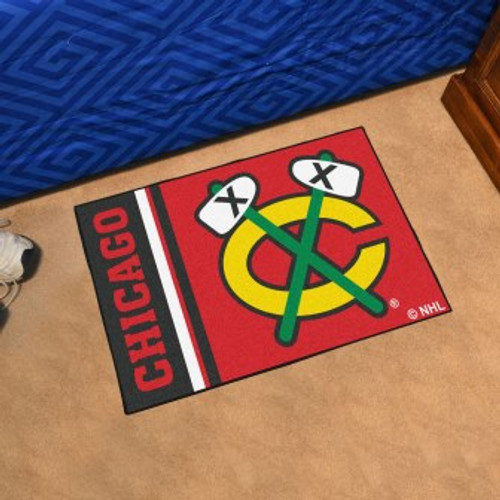 Chicago Blackhawks Logo Starter Mat