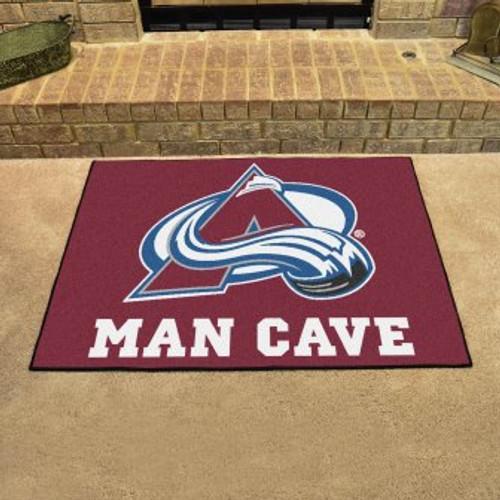 Colorado Avalanche Man Cave All-Star Mat