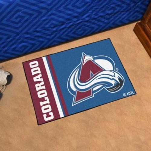 Colorado Avalanche Logo Starter Mat
