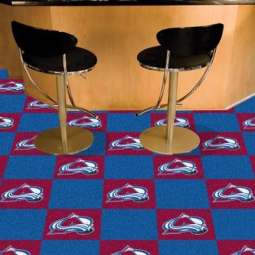 Colorado Avalanche Team Carpet Tiles