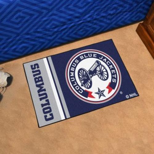 Columbus Blue Jackets Logo Starter Mat
