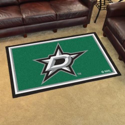Dallas Stars 4x6 Rug