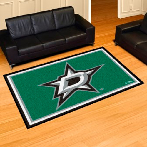 Dallas Stars 5x8 Rug