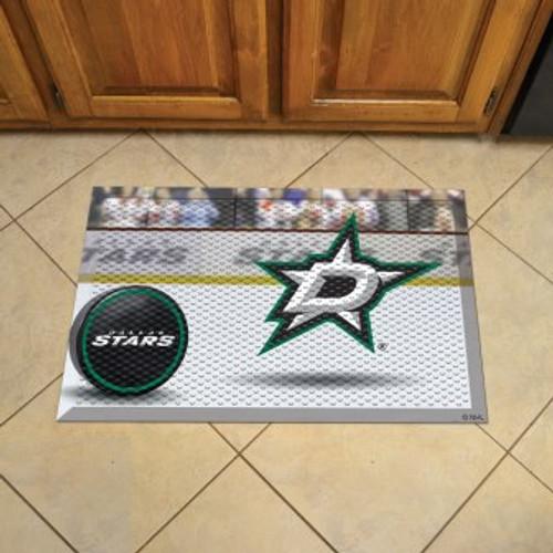 Dallas Stars Hockey Scraper Mat
