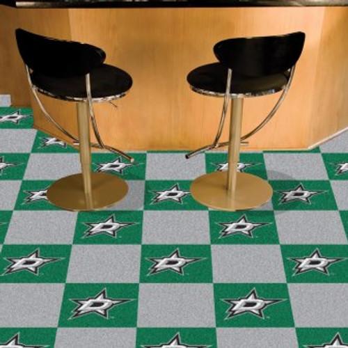 Dallas Stars Team Carpet Tiles