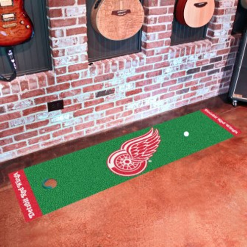 Detroit Red Wings Putting Green Mat