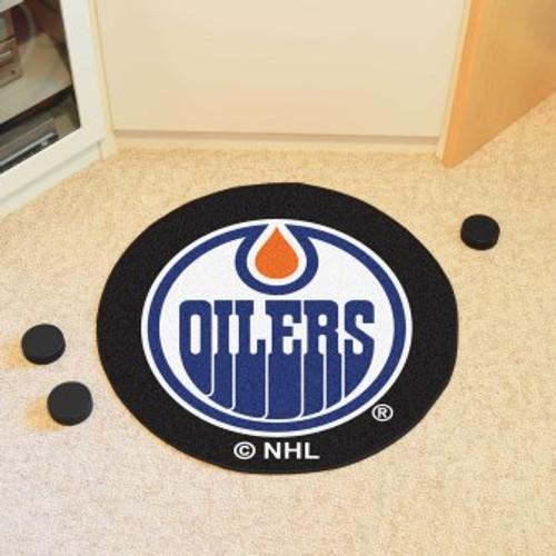 Edmonton Oilers Puck Mat