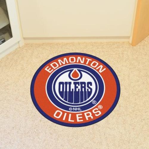 Edmonton Oilers Roundel Mat
