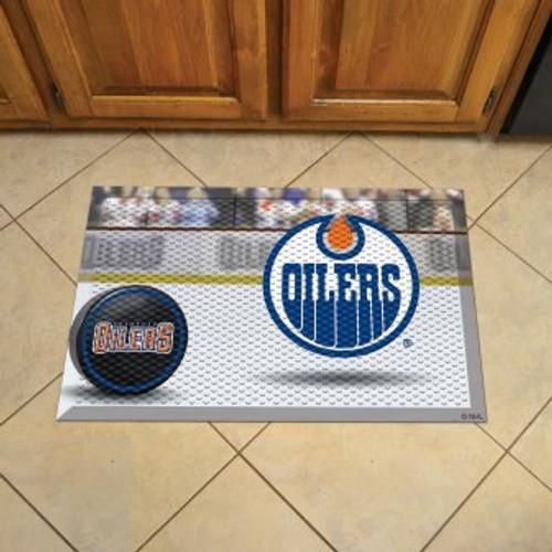 Edmonton Oilers Hockey Scraper Mat