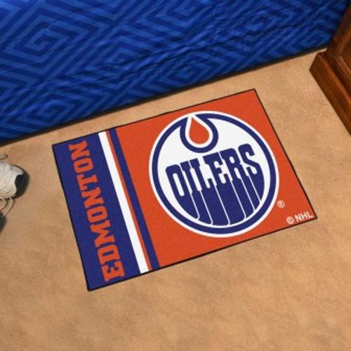 Edmonton Oilers Logo Starter Mat