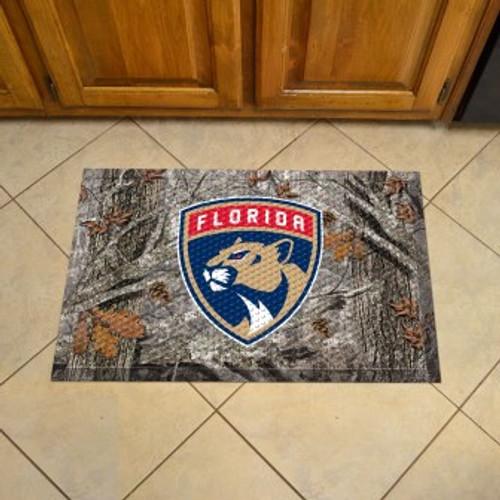 Florida Panthers Camo Scraper Mat