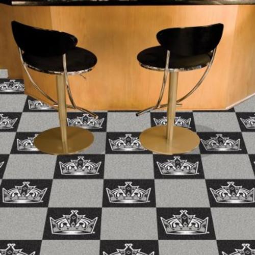 Los Angeles Kings Team Carpet Tiles