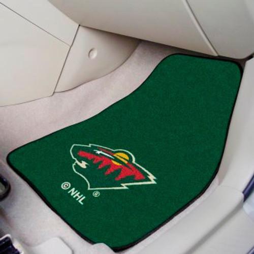 Minnesota Wild 2-pc Carpet Car Mat Set