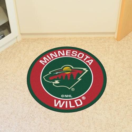 Minnesota Wild Roundel Mat