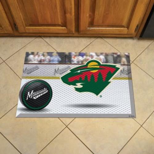 Minnesota Wild Hockey Scraper Mat