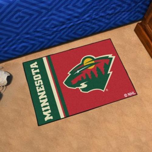 Minnesota Wild Logo Starter Mat