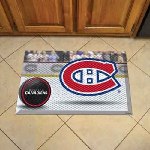 Montreal Canadiens Hockey Scraper Mat