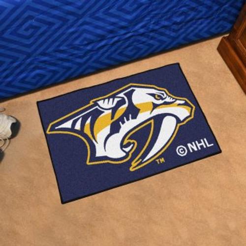 Nashville Predators Starter Mat-Blue